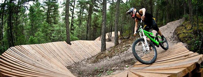 The Bike Trails of Williams Lake